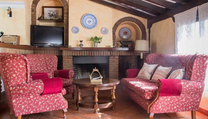 salón casa rural - la venta de agar-z