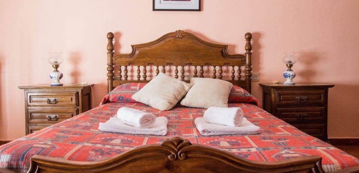 Dormitorio principal - La Venta de Agar-Z