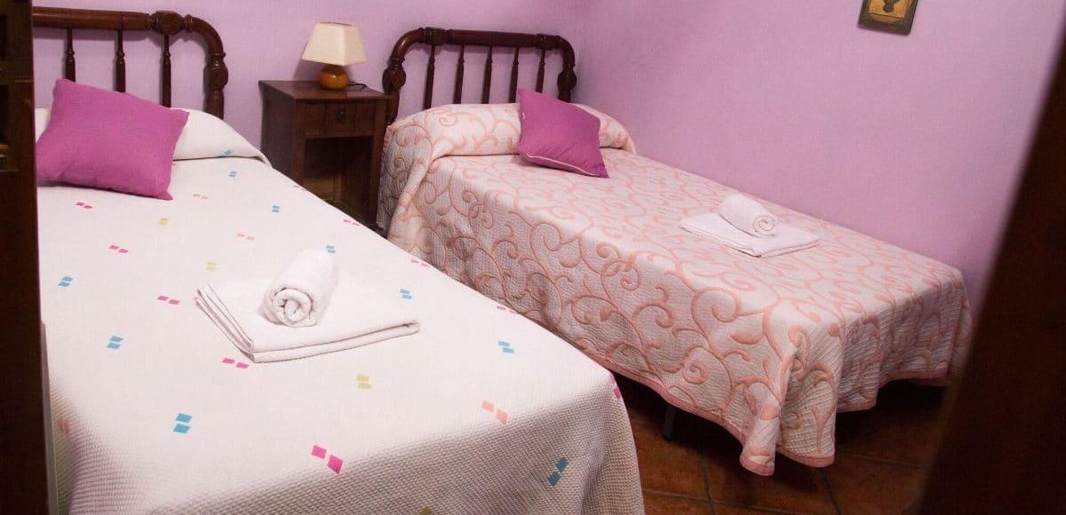 Dormitorio 1 - La Venta de Agar-Z